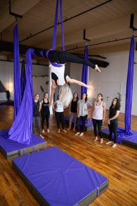 manchester nh yoga new hamphire yoga studio kama fitness karlene aerial silks best of nh aerial yoga Aerial fabric circus silks fitness