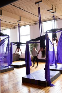 manchester nh yoga new hamphire yoga studio kama fitness karlene aerial silks best of nh aerial yoga Aerial fabric circus silks fitness aerial class studio fitnes