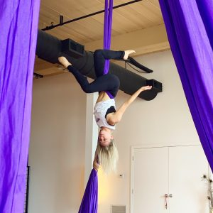manchester nh yoga new hamphire yoga studio kama fitness karlene aerial silks best of nh aerial yoga Aerial fabric circus silks fitness kama fit tv karlene aerial yoga girl