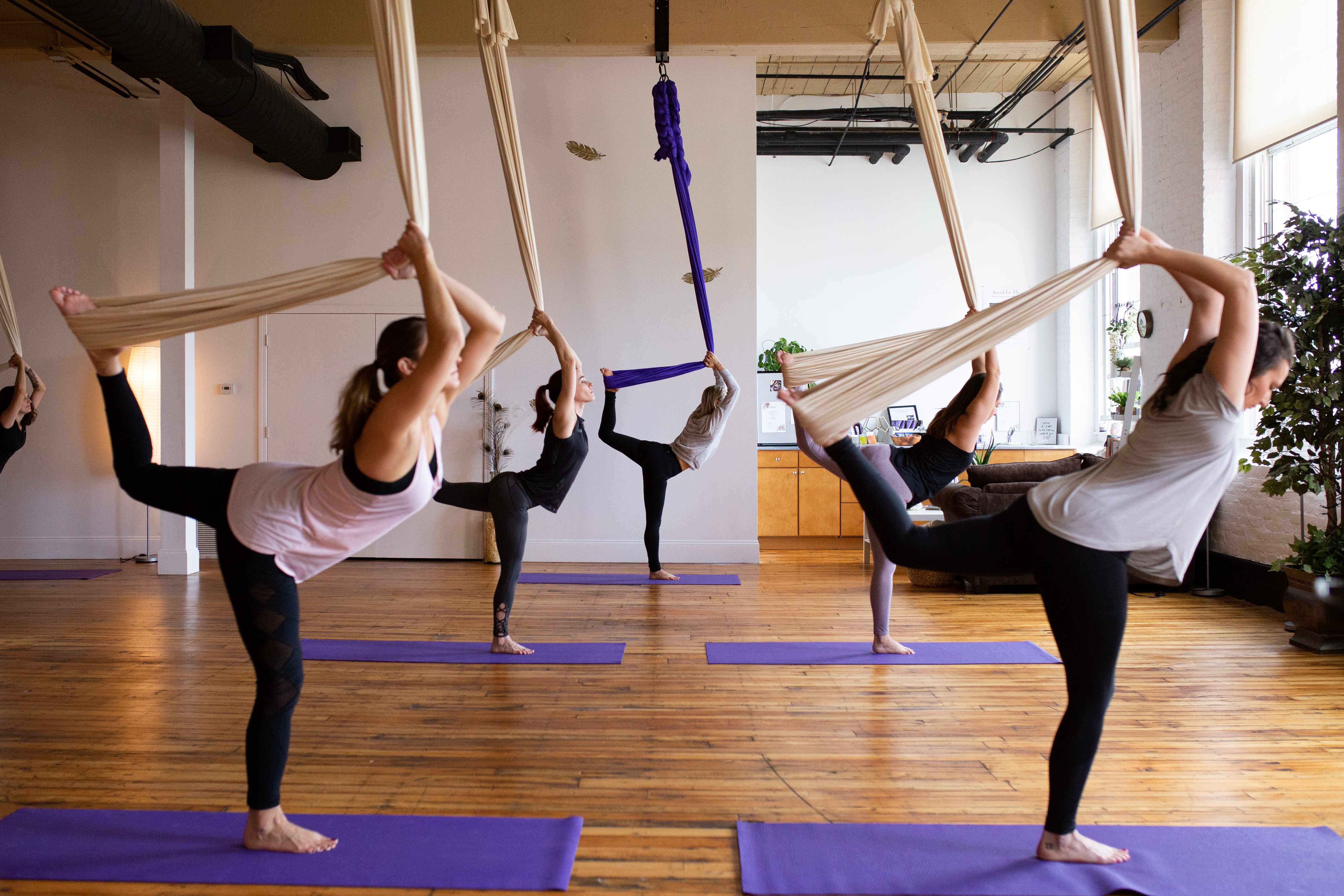 manchester nh yoga new hamphire yoga studio kama fitness karlene aerial silks best of nh aerial yoga Aerial fabric circus silks fitness pilates barre lyra hoop trapeze