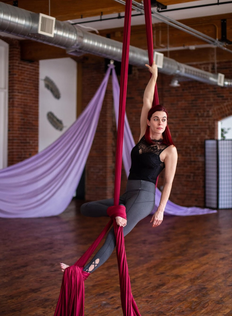 aerial yoga fitness circus nh new hampshire class classes kama fitness nh new hampshire